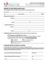 Med Records Release-PC